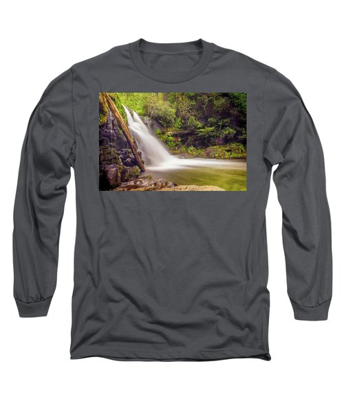 Abrams Falls Long Sleeve T-Shirt by David Cote