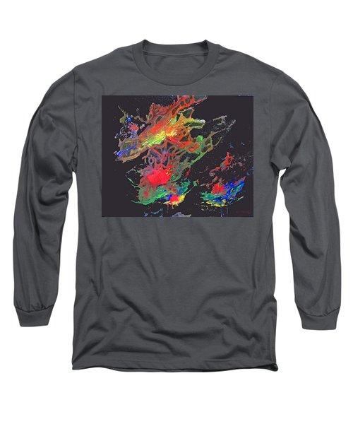 Abstract Andromeda Long Sleeve T-Shirt