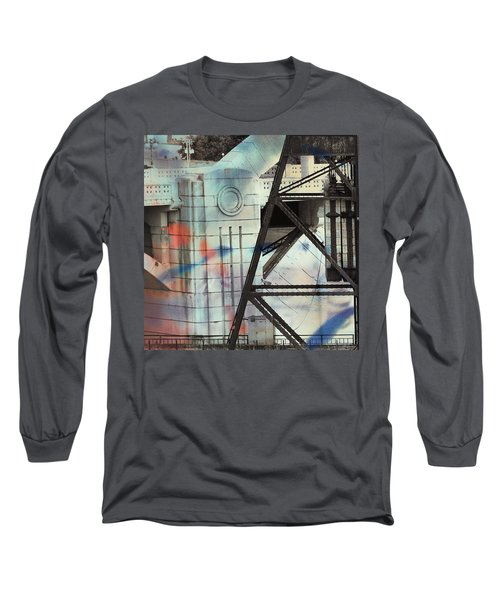 Abstract Architecture Long Sleeve T-Shirt by Susan Stone