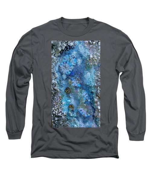 Abstract Art - Time Is Precious  Long Sleeve T-Shirt