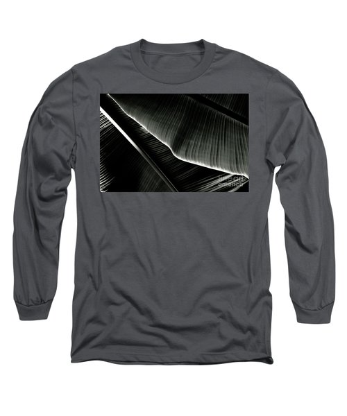 Abstract Banana Leaf Long Sleeve T-Shirt