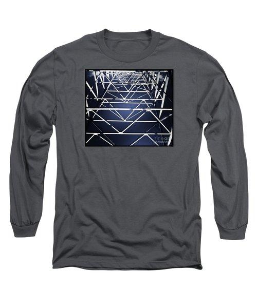 Abstract Bridge Long Sleeve T-Shirt