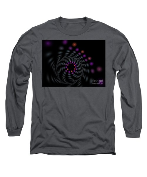 Abstract Carousel Long Sleeve T-Shirt