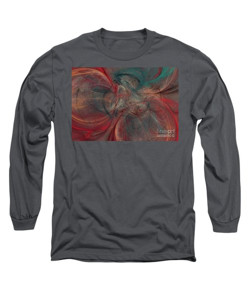 Abstract Chaotica 10 Long Sleeve T-Shirt