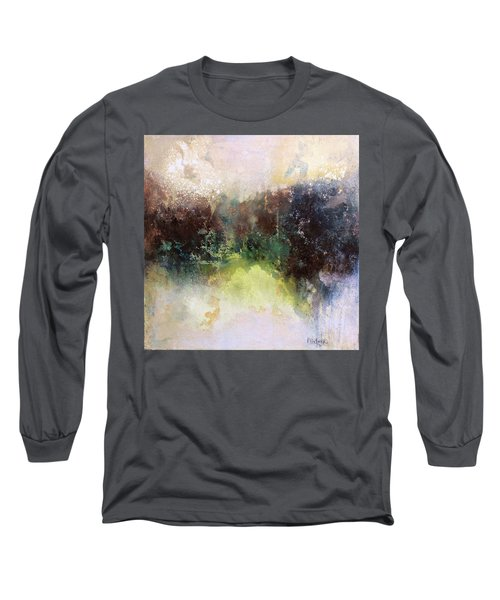 Abstract Contemporary Art Long Sleeve T-Shirt by Patricia Lintner