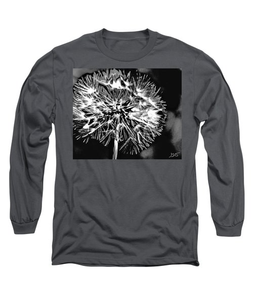 Abstract Dandelion Long Sleeve T-Shirt