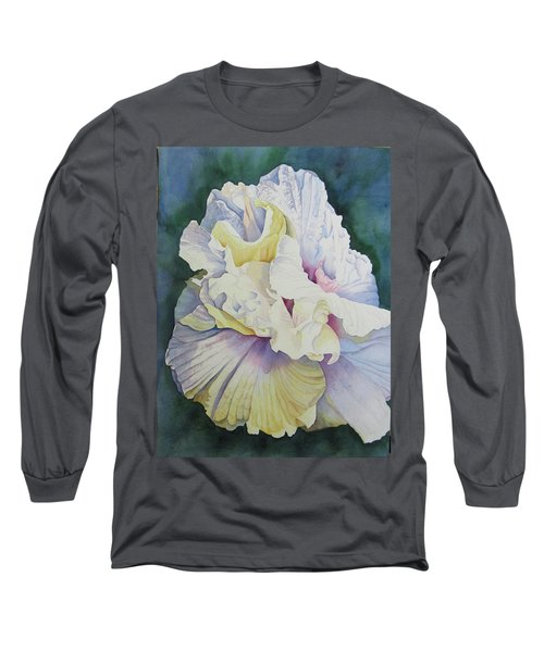 Abstract Floral Long Sleeve T-Shirt by Teresa Beyer