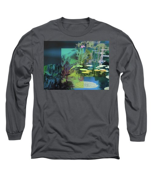 Abstract Flowers Of Light Series #20 Long Sleeve T-Shirt