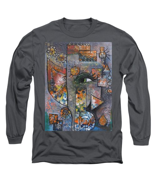 Abstract Ganesha  Long Sleeve T-Shirt