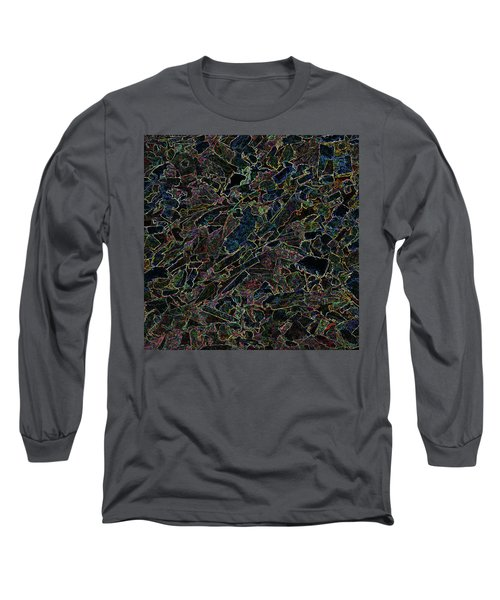 Long Sleeve T-Shirt featuring the photograph Abstract II by Lewis Mann