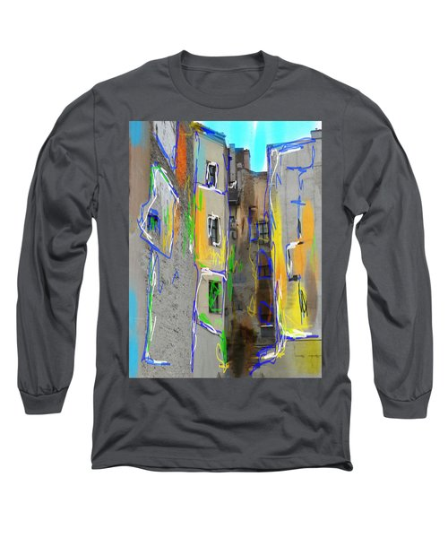 Abstract  Images Of Urban Landscape Series #13 Long Sleeve T-Shirt