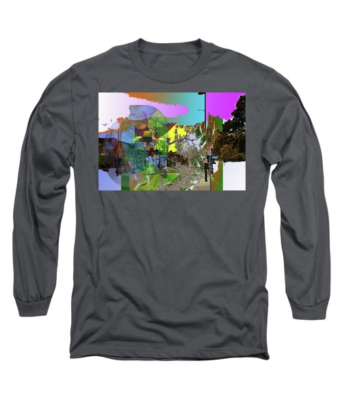 Abstract  Images Of Urban Landscape Series #5 Long Sleeve T-Shirt
