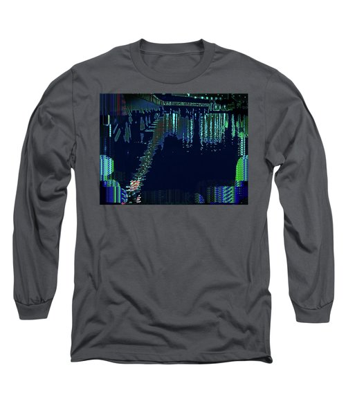 Abstract  Images Of Urban Landscape Series #7 Long Sleeve T-Shirt