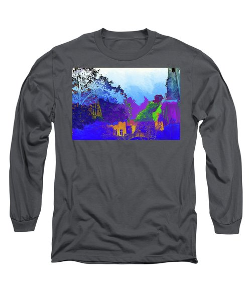 Abstract  Images Of Urban Landscape Series #8 Long Sleeve T-Shirt