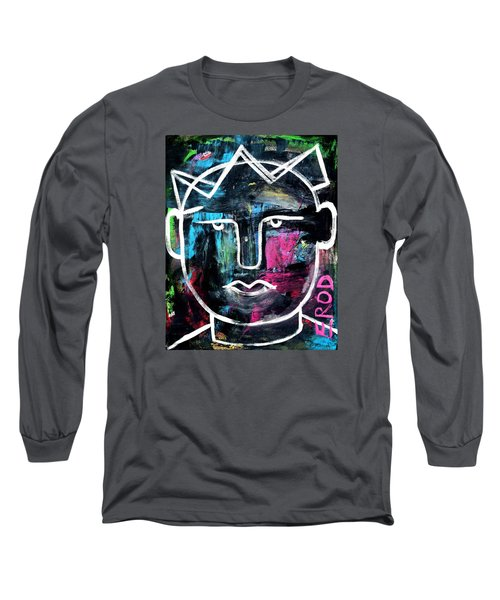 Abstract King - Original Robert Erod Art Long Sleeve T-Shirt