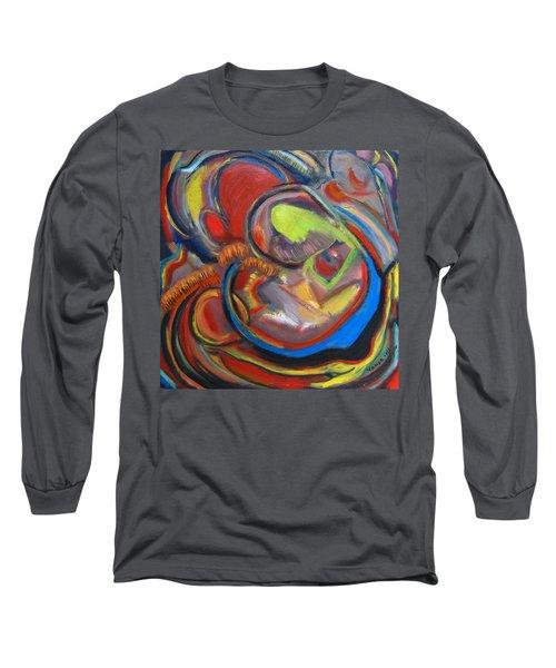 Abstract Life Long Sleeve T-Shirt