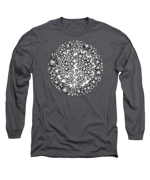 Abstract Macro Shapes Long Sleeve T-Shirt