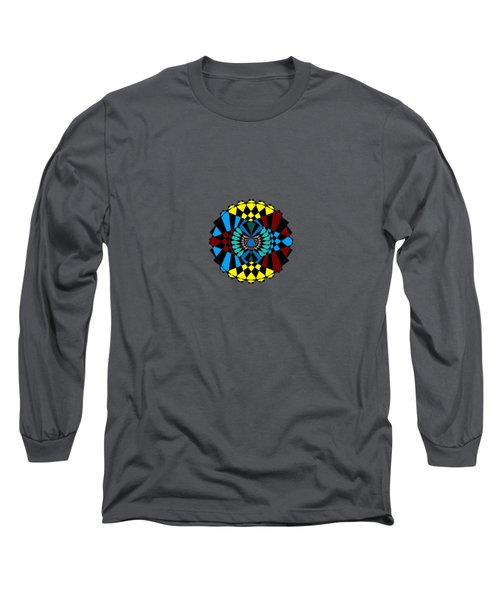 Abstract Native Dancer Long Sleeve T-Shirt