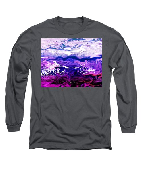 Abstract Ocean Fantasy One Long Sleeve T-Shirt