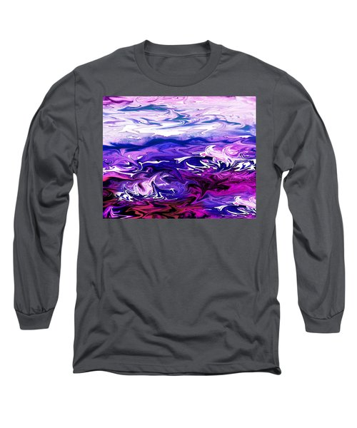 Abstract Ocean Fantasy Three Long Sleeve T-Shirt