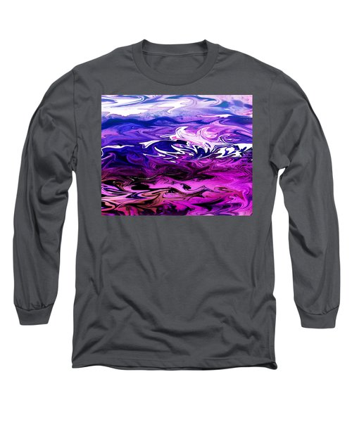 Abstract Ocean Fantasy Two Long Sleeve T-Shirt