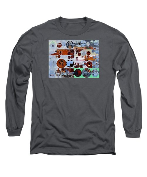 Abstract Painting - Heather Long Sleeve T-Shirt