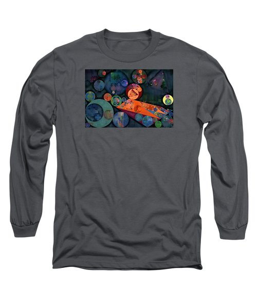 Abstract Painting - Tango Long Sleeve T-Shirt