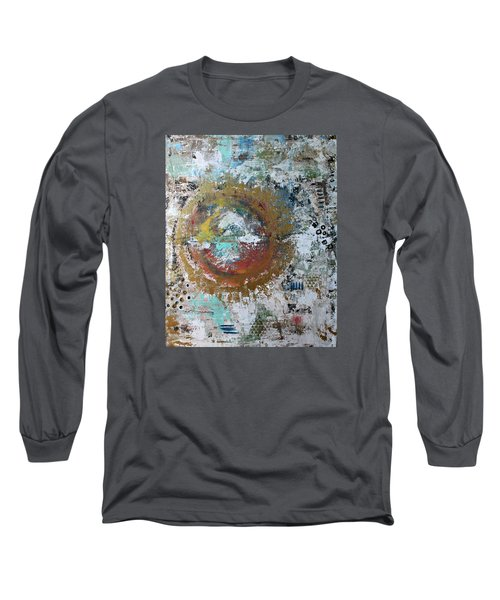 Abstract Paintng Long Sleeve T-Shirt