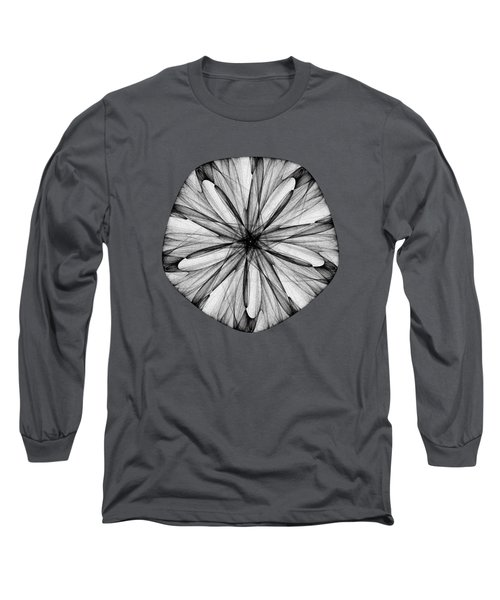 Abstract Sand Dollar Long Sleeve T-Shirt