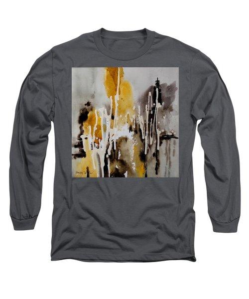 Abstract Scene Long Sleeve T-Shirt