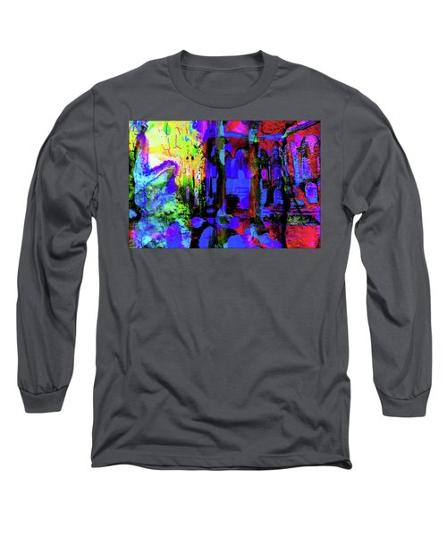 Abstract Series 0177 Long Sleeve T-Shirt