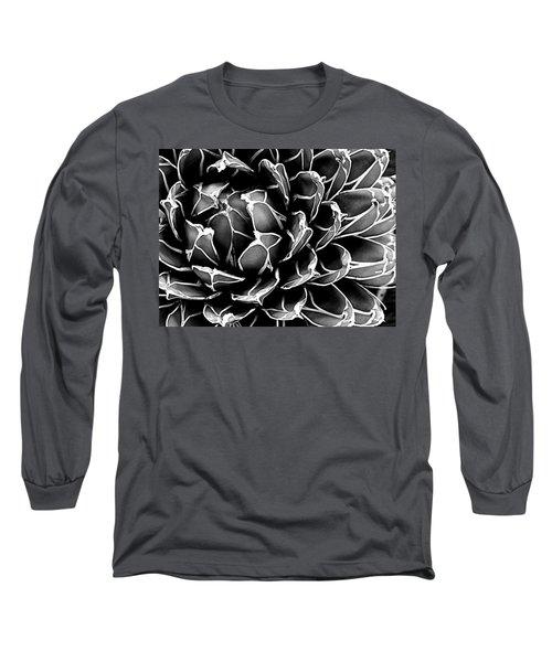 Abstract Succulent Long Sleeve T-Shirt by Ranjini Kandasamy