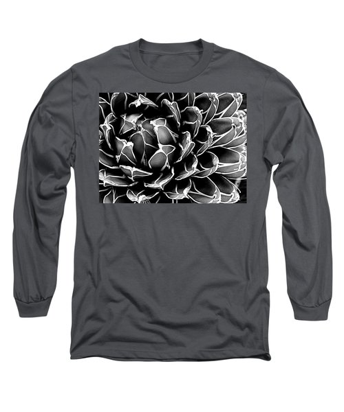 Abstract Succulent Long Sleeve T-Shirt