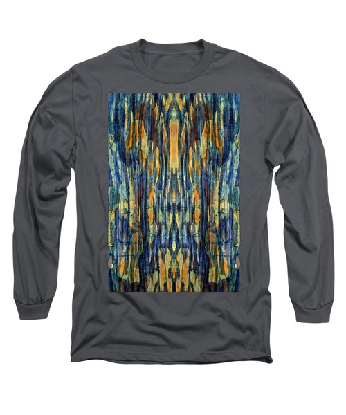 Abstract Symmetry I Long Sleeve T-Shirt