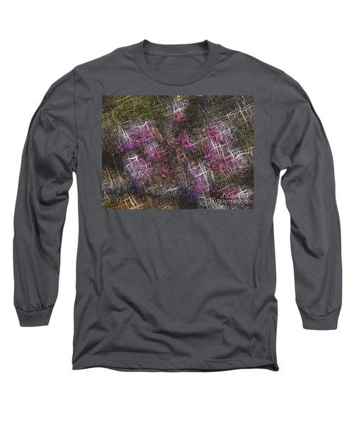 Abstract Tulip Long Sleeve T-Shirt