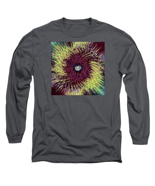 Long Sleeve T-Shirt featuring the photograph Abstract Swirl 02 by Jack Torcello