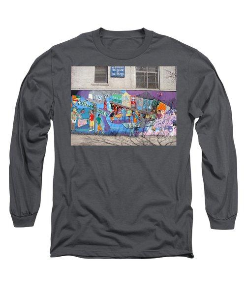 Academy Street Mural Long Sleeve T-Shirt