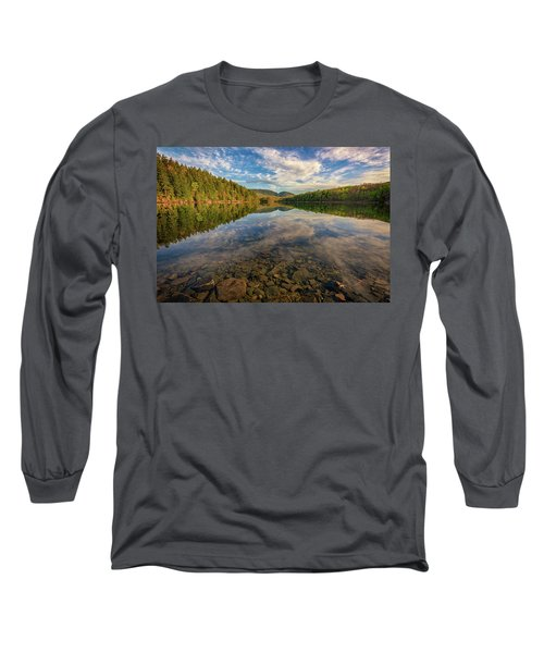 Acadian Reflection Long Sleeve T-Shirt by Rick Berk