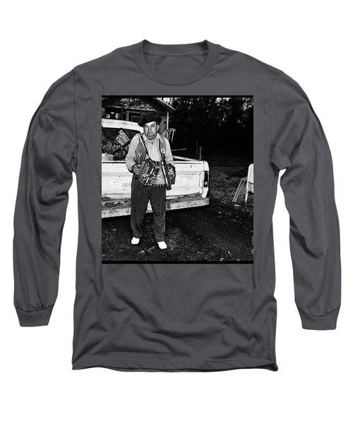 Accordion Scrapper Man  Long Sleeve T-Shirt