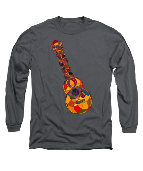 Acoustic Guitar Long Sleeve T-Shirt