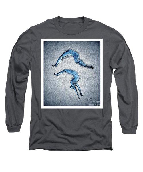 Acrobatic Gesture Long Sleeve T-Shirt