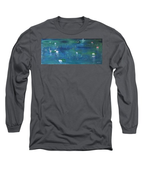 Across The Lily Pond Long Sleeve T-Shirt