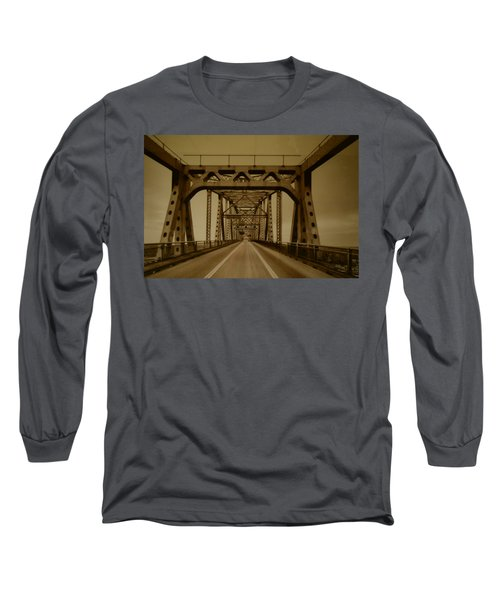 Across The Old Bridge Long Sleeve T-Shirt