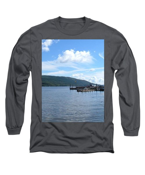 Across The Water Long Sleeve T-Shirt