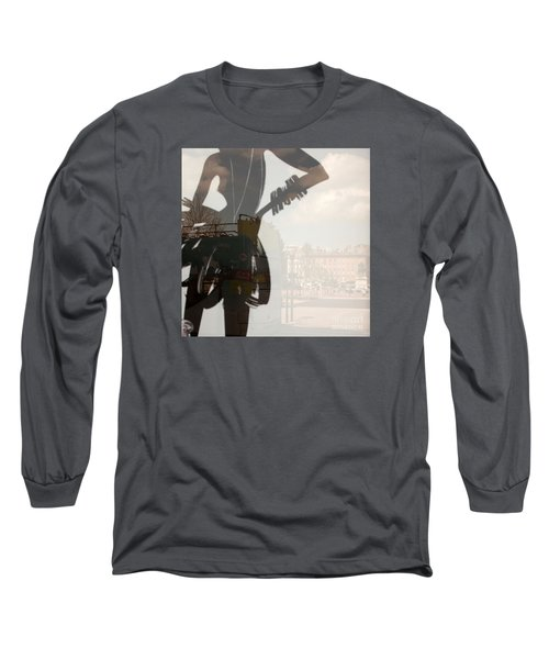 Ad Stand Reflection Long Sleeve T-Shirt