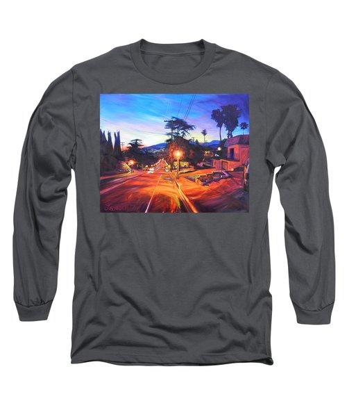Twilight Passion Long Sleeve T-Shirt by Bonnie Lambert