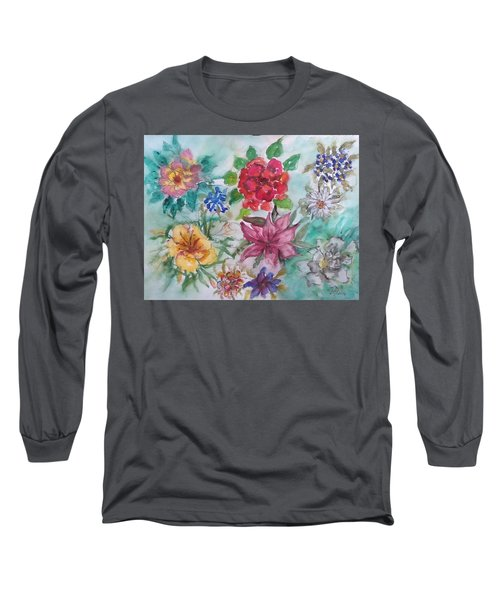 Adele's Garden Long Sleeve T-Shirt