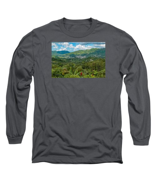Long Sleeve T-Shirt featuring the photograph Adjuntas by Jose Oquendo