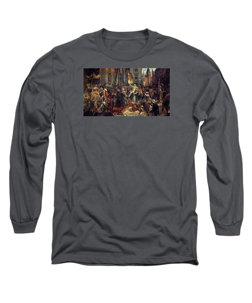 Adoption Of The 1791 Polish Constitution Long Sleeve T-Shirt