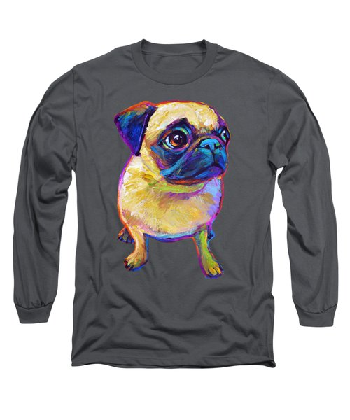 Adorable Pug Long Sleeve T-Shirt